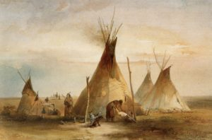 Tipis in North America