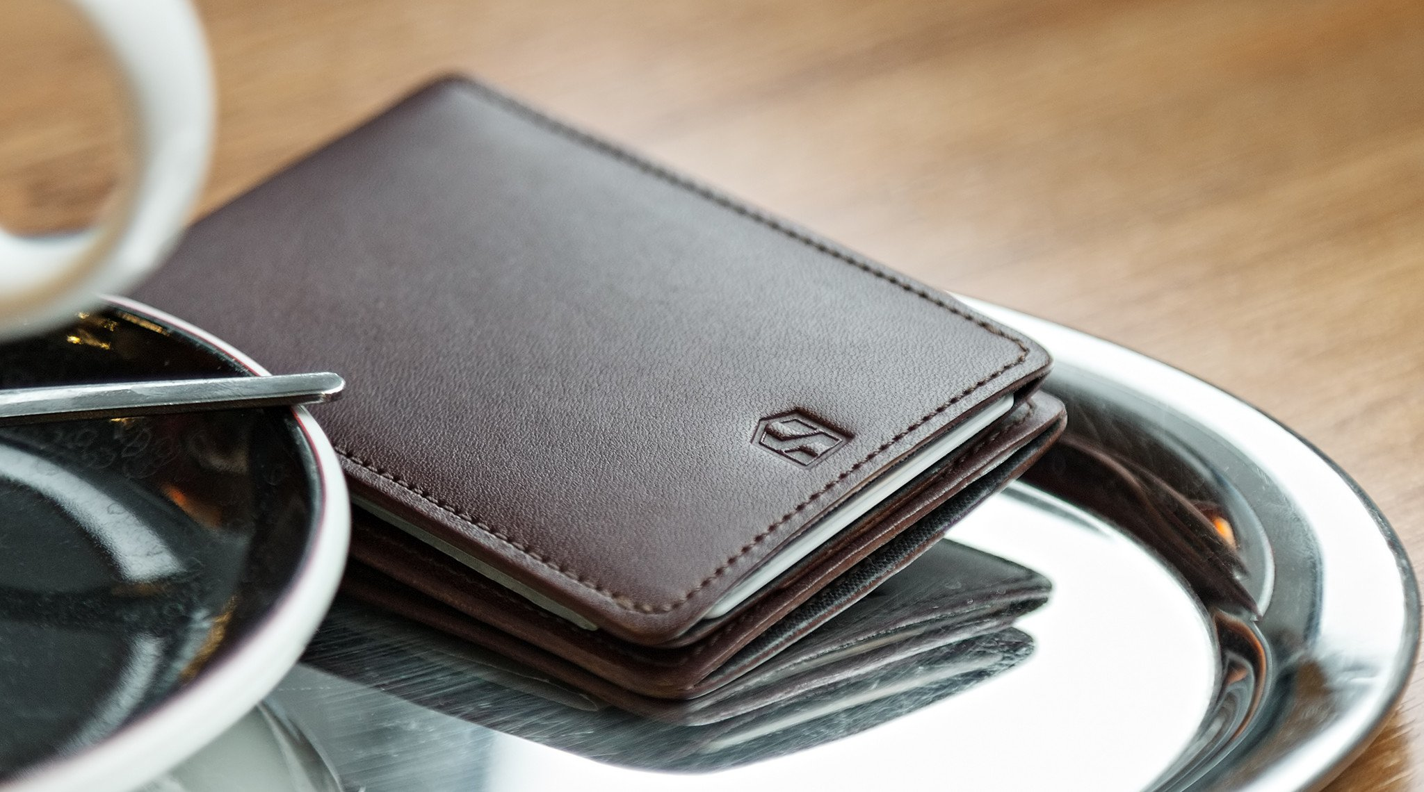 Huskk Minimalist Leather Wallet