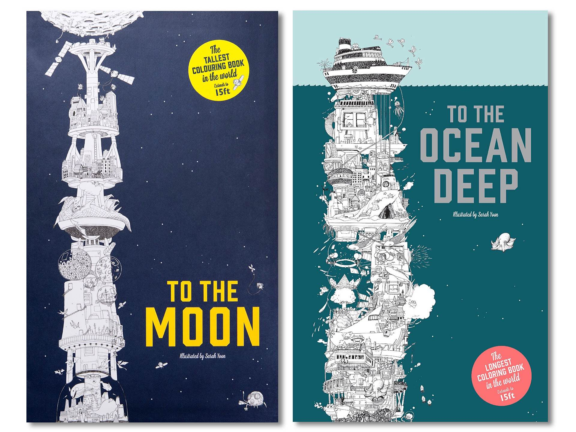 To The Moon and To The Ocean Deep