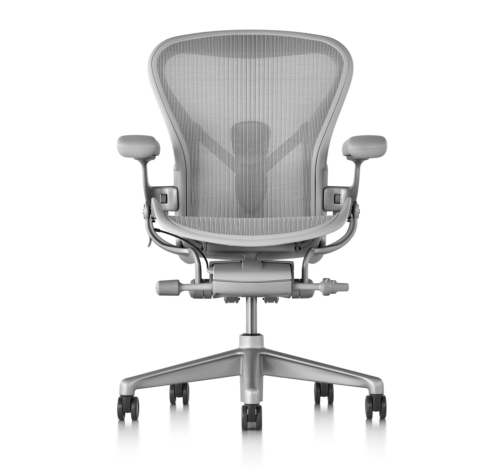 Herman Miller Aeron in Mineral color