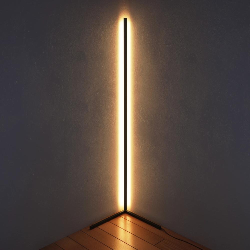 Modern Minimalist Vertical Corner LED Floor Lamp Lighting